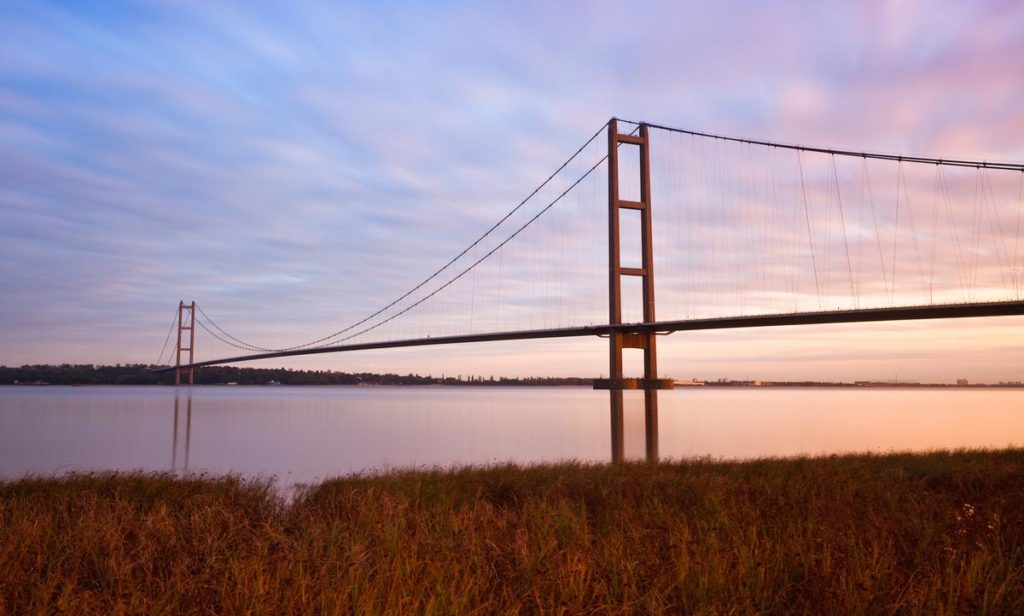 The Humber Bridge, UK